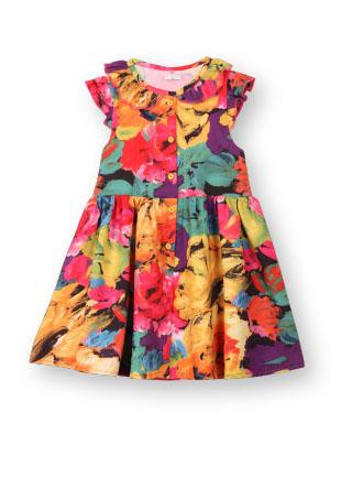 Платье с рюшкой GD322814