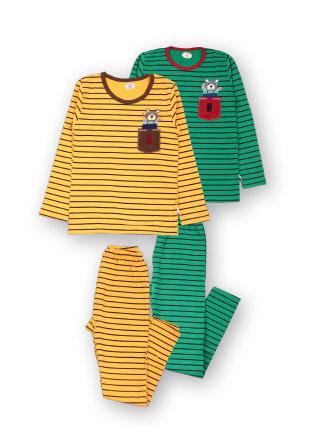 Пижама мишка в кармане Mh-18-23224