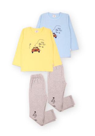 Пижама с машинкой Mh-14-13217
