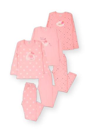 Пижама с апликацией Mh-18-13165