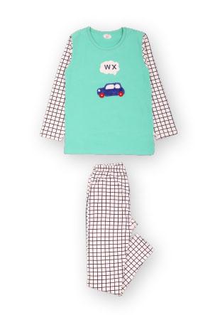 Пижама с клеткой Mh-18-13140