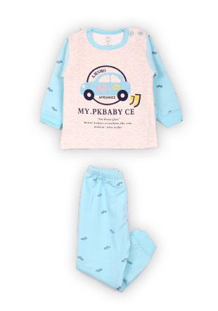 Пижама утепленная мальчиковая Mh-15-9462