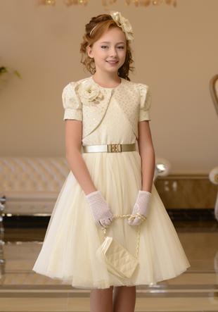 Платье (перчатки,сумочка,шляпка) LS-15640