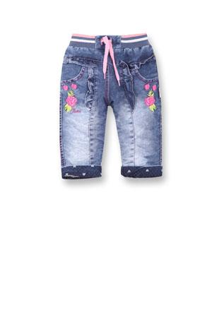 Утепленные джинсы девочка 228332