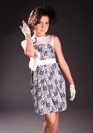 Платье нарядное для девочки LS-6450