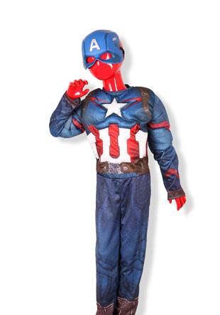 Новогодний костюм  Капитан Америка AS-650-KA-3620
