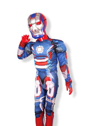 Новогодний костюм Железный человек As-650-IR-3620