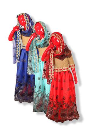Новогодний костюм Индианки As-500-IN-2795