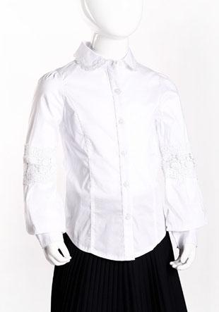 Блузка длинный декоративный рукав NQ-43-2360