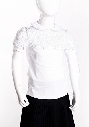 Блузка трикотажная короткий рукав NQ-46-97028