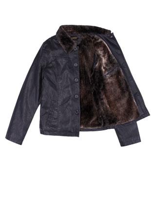 Куртка с воротником 22540