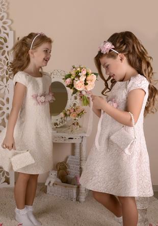 Платье с ободком,сумочкой и перчатками LS-12920