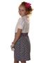 Платье(перчатки,сумочка, ободок) LS-10200