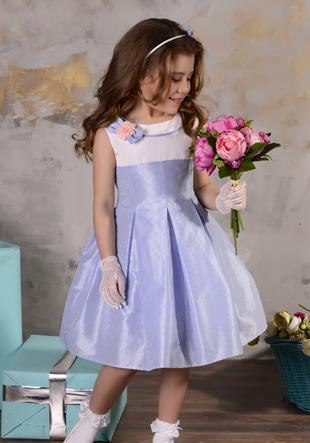 Платье с сумочкой и ободком LS-8840