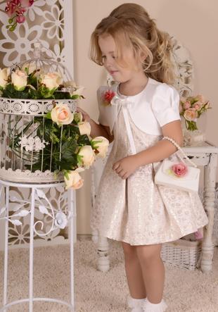 Платье с балеро и сумочкой LS-13600